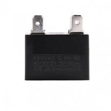 Конденсатор 1.5 mF CBB61 450VAC, квадратный