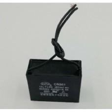 Конденсатор 12 mF CBB61 450VAC, квадратный
