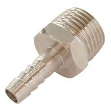 N-2-7 Переходник для шланга с наружной резьбой с 1/2 на d-10мм